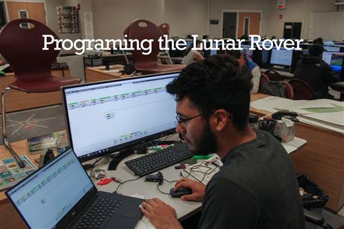 Programming the lunar rover